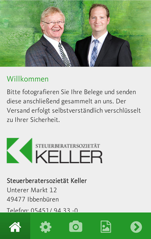Steuerberaterapp Keller Ibbenbüren Bild 1